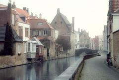 Foggy Bruges... (Alex Switzerland) Tags: cityscape bruges brugge belgium belgique landscape architecture canon eos 6d outdoor