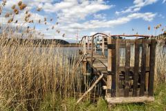 _ZA09525b (zalo_astur) Tags: pantalan barca ria mar asturias asturies