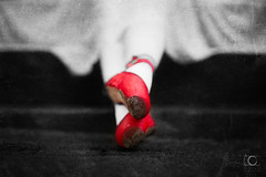 The-Red-Shoes... (AndyDyso) Tags: ballet dancing