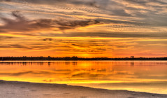 Sunset at the Limfjord (mnielsen9000) Tags: sunset landscape fjord hdr limfjord d600 egense nikon70200f28vrii