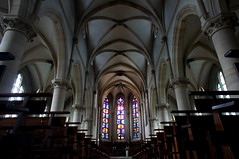 Tübingen church interior