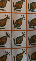 Antique Pineapple, modern quilting detail Texas Quilt Museum Nov 2013 (mqumag) Tags: tqm