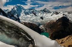 Pucahirca (faltimiras) Tags: park parque ice peru climbing blanca national parc nacional gel hielo escalada cordillera huaraz perou huascaran alpamayo