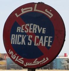 Rick's Café Sign (Casablanca, Morocco) (courthouselover) Tags: morocco maroc casablanca المغرب almaghrib الدارالبيضاء grandcasablanca régiondugrandcasablanca grandcasablancaregion