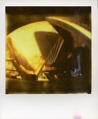 VIVID SYDNEY LIGHT FESTIVAL 2014 (Eva Flaskas) Tags: show winter light house color film june festival polaroid sx70 opera sydney vivid australia event shade instant 2014 px70