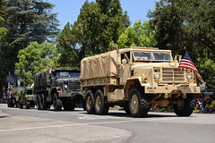La Verne's 2014 4th of July Parade (Trent Bell) Tags: california military parade vehicles socal 4thofjuly 2014 laverne