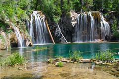 Hanging Lake (Aaron Spong Fine Art) Tags: lake green waterfall colorado eagle glenwood waterfalls springs hanging