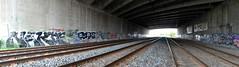 quickage-DSC_0395-DSC_0397 v2 (collations) Tags: toronto ontario concrete graffiti documentary infrastructure qbert exist builtenvironment nakie concretedreams