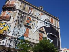 project cronos III (aestheticsofcrisis) Tags: street urban streetart art portugal graffiti mural europe lisbon urbanart intervention guerillaart muralismo muralism lucymclaughlan projectocrono projectcronos