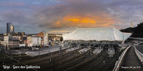 Liège, gare des Guillemins