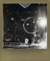 ANZAC BRIDGE (Eva Flaskas) Tags: bridge light bw white black slr cars film night silver project polaroid gold long exposure border sydney australia trail shade and instant pyrmont anzac 680 impossible