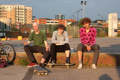 On holiday. (Jack Theobald) Tags: colour canon lads skateboarding weekend sheffield away skateboard smashed bros homies shred 550d