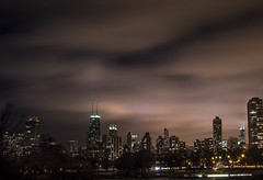 midnight sky II (olsonj) Tags: city chicago night clouds lights lincolnpark