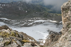 Behind the glacier (ggallenb) Tags: schnee mountain snow alps rock glacier berge alpen gletscher felsen