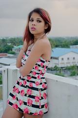 Nikka (arnaud rakoto) Tags: roof portrait rooftop girl beautiful beauty fashion model nikon availablelight indianocean portraiture 1855 nikkor opensource mode madagascar buste malagasy gasy d90 tamatave toamasina rawtherapee
