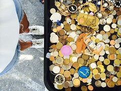 coined (lianebeat) Tags: vintage market coins antique melrose fleamarket melrosetradingpost