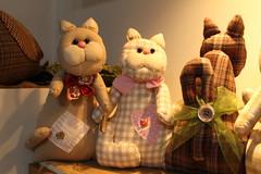 Os trs primeiros (ceciliamezzomo) Tags: cat kitten handmade kitty gatos gato flannel patchwork gatinho gatinhos flanela