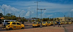 Taxis in Cartagena, Colombia (ptieck) Tags: colombia taxis cartagena caribe
