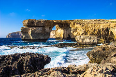 Azure Window (Jeffrey Heyman) Tags: blue wedding game window water beautiful azure malta thrones gozo drogo danys khal targarian