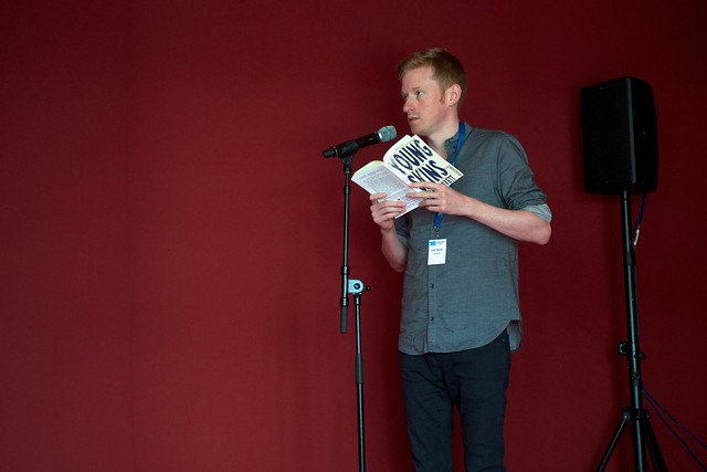 Colin Barrett reads from Young Skins at the Edinburgh International Book Festival