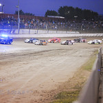 Chevrolet, the Official Pace Truck of Eldora Speedway, helps power the field to the green flag.