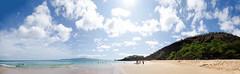 Big beach (Sebastien Morin) Tags: ocean voyage trip travel blue sky beach water clouds island photography hawaii us paradise pacific earth maui adventure backpacking terre plage paradis