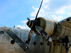DSCF9292 - Nord 2501 Noratlas abandonn, base arienne oublie du chteau B. (sylvainsilver) Tags: plane decay nord militaire avion abandonned urbex 2014 abandonn 2501 noratlas sylvainsilver