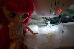 311/365 sewing a Wubba pantie for my sis