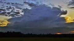 Aug. 7th 2014 Thunderstorms Cap Pele to Miramichi, NB (nbstormchaser) Tags: sky nature weather clouds newbrunswick thunderstorm lightning storms severeweather cumulonimbus