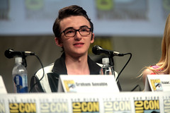 Isaac Hempstead Wright (Gage Skidmore) Tags: california san comic ben isaac elle diego center hempstead convention travis anthony knight wright kingsley graham con annable 2014 fanning stacchi boxtrolls