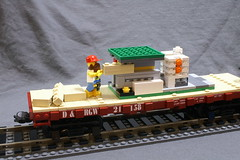 DRGW_21158_10 (SavaTheAggie) Tags: world railroad galveston rio museum train soldier grande lego duty tomb railway trains denver western unknown record block marble heavy slab flatcar drgw