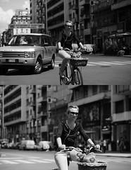 [La Mia Citt][Pedala] (Urca) Tags: portrait blackandwhite bw italia milano bn ciclista biancoenero mir bicicletta 2014 pedalare dittico 65418 nikondigitale ritrattostradale