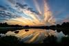 Brilliant Start (Sky Noir) Tags: morning sky reflection start sunrise virginia unitedstates cloudy brilliant wyndham skynoir