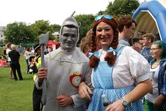 "Dorethy and the Tin Man at Plymouth Pride 2014 • <a style=""font-size:0.8em;"" href=""https://www.flickr.com/photos/66700933@N06/14877535051/"" target=""_blank"">View on Flickr</a>"