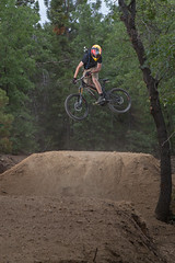 Big Bear Mountain Resorts Bike Park at Snow Summit in Big Bear Lake, California. Whip It Wednesday.
