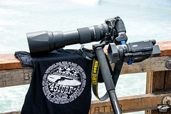Nikon D810 + 4K Sony FDR-AX100/B 4K Video Camcorder For Shooting Stills and Video @ The Same Time of The Pro Surf Goddesses ! 45surf t-shirts! (45SURF Hero's Odyssey Mythology Landscapes & Godde) Tags: lens t for is nikon aluminum with photos d 5 tripod taken shirts sp hoody mounted di mm odyssey tamron vc achilles sturdy usd vanguard hoodies shown lightroom the 810 tamrom d810 f563 nikonmount 45surf nikond810 150600 150600mm lightroom5 d800e lightroom53 and45surf malibuthenew4ksonyfdrax100b4kvideocamcorderfdrax100fdrax100sonystillsandvideosametimebracket