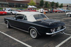 1964 Chevrolet Corvair (DVS1mn) Tags: new london chevrolet car gm brighton antique bowtie run chevy era brass generalmotors brassera newlondontonewbrighton nlnb nlnbacr 28thannualnewlondontonewbrightonantiquecarrun