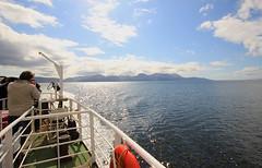 Claonaig bound (Hugh Spicer / UIsdean Spicer) Tags: arran isleofarran kintyre firthofclyde