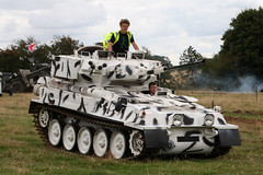 Alvis Scorpion CVRT in Snow Camouflage (NTG's pictures) Tags: show military scorpion trust vehicle and trucks fighting society warwickshire tanks alvis spartan firepower 2014 dunchurch cvrtcombatvehiclereconnaissancetrackedscimtar