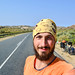 Cycling on the roads of Namaqualand, South Africa