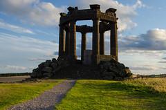 Stonehaven War Memorial #3 (Man of Rock) Tags: world sunset scotland nikon memorial war aberdeenshire dusk first august lee gb second filters stonehaven 2014 1755mm d7000 wwwcjmassoncouk