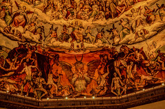The last judgement (caginyilmaz) Tags: italy art photo florence flickr italia cathedral image duomo dslr fresco frenze