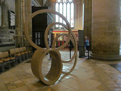 Southern Shade I (pefkosmad) Tags: sculpture art modernart exhibition gloucestershire gloucester gloucestercathedral nigelhall crucible2 crucibleexhibition southernshadei