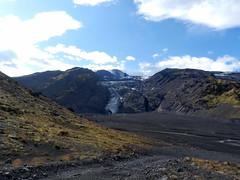 Ciò che resta dopo l'eruzione (FabienClimb) Tags: volcano iceland glacier vulcano icecaves þórsmörk ghiacciaio gígjökull eyjafjallajökull eruzione linguadighiaccio grottedighiaccio þórsmerkurvegur