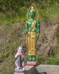 Wat Khao Rang Ubosot Mahout Warrior (DTHP0567) วัดเขารัง นักรบควาญ อุโบสถ