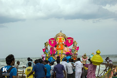 "Lord Ganesha Immersion Festival, Chennai • <a style=""font-size:0.8em;"" href=""http://www.flickr.com/photos/86056586@N00/14990991308/"" target=""_blank"">View on Flickr</a>"