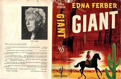 Giant, Edna Ferber (yokeon) Tags: giant 1954 ednaferber readersbookclub davidgrieve