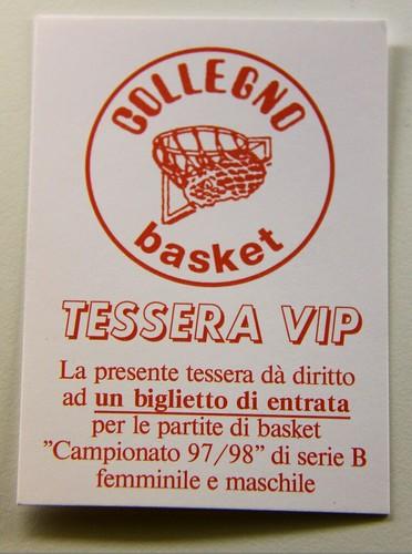 Tessera VIP CB 97-98