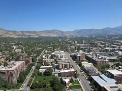 View from top of Mormon Church Office Building, Temple Square, Salt Lake City (John Steedman) Tags: usa america utah unitedstates unitedstatesofamerica saltlakecity northamerica mormon templesquare lds estadosunidos  norteamrica nordamerika amriquedunord amricadelnorte      mormonchurchofficebuilding