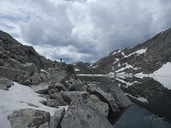 Long Lake near Mount Victor